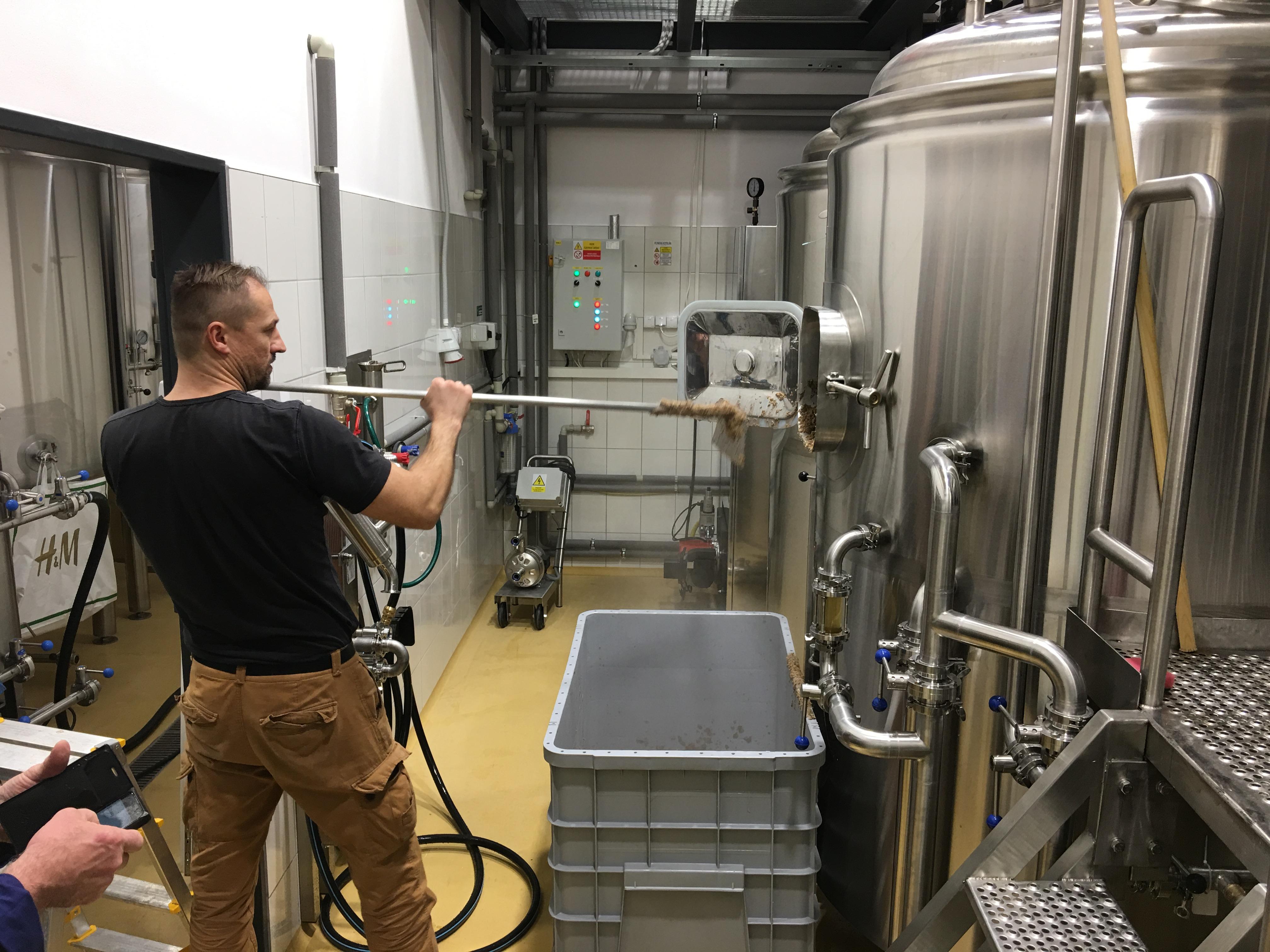 První vaření – Pivovar Herrenwald – Malá ida